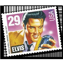 Briefmarken      des Themas Elvis Presley  '