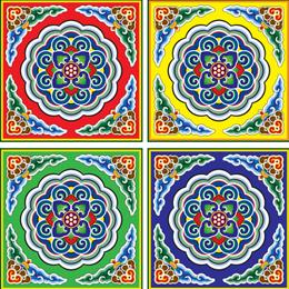 Briefmarken      des Themas Fernöstliche Kunst  '