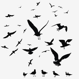 Briefmarken      des Themas Vögel  '