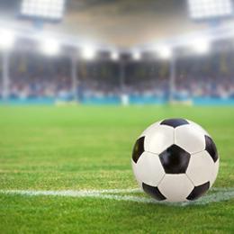 Briefmarken      des Themas Fussball  '