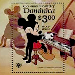 Briefmarken      des Themas Disney  '