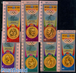 Olympic medals 7v imperforated