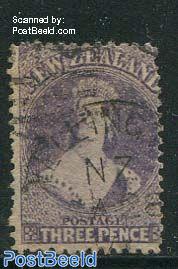 3P dull purple, WM1, used