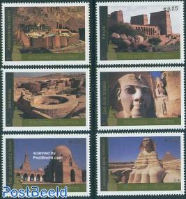 World heritage, Egypt 6v