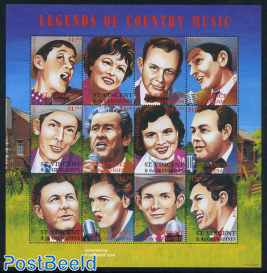 Legends of country music 12v m/s