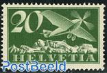 Airmail definitive 1v