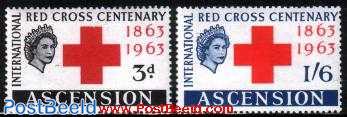 Red Cross centenary 2v