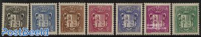 Definitives, coat of arms 7v