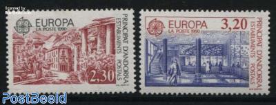 Europa, post offices 2v