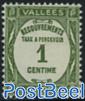 Postage due 1v
