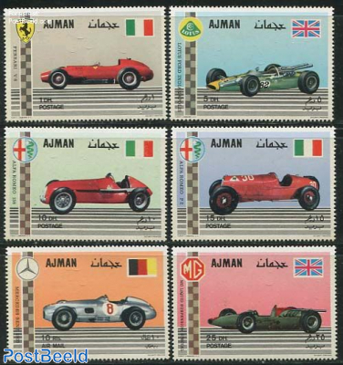 Racing cars 6v