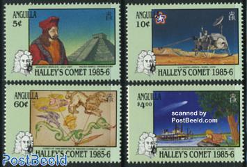 Halleys comet 4v