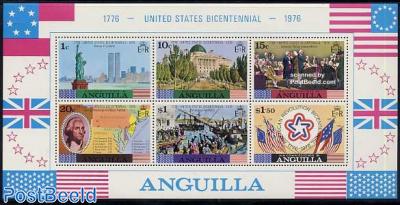 US Bicentennial s/s