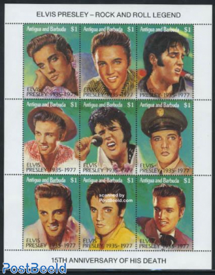 Elvis Presley 9v m/s