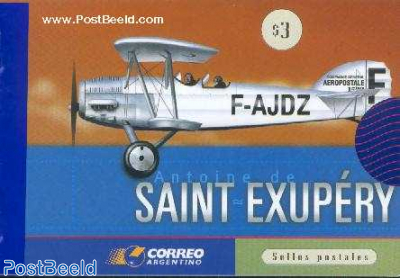 St. Exupery 6v in booklet