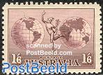 Airmail definitive No WM 1v