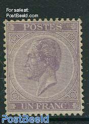 1Fr, King Leopold I