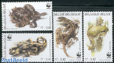 WWF, reptiles 4v
