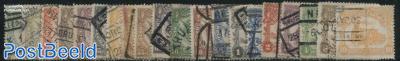 Railway stamps 20v
