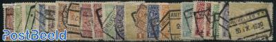 Railway stamps Mecheln issue 22v