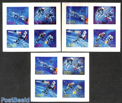 Space flights 3 s/s