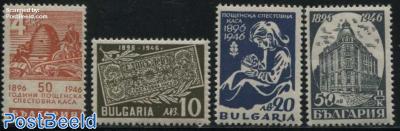 Postal savings bank 4v