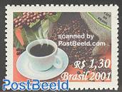 Coffee 1v, fragrant stamp
