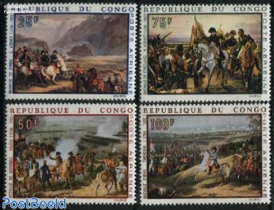 Napoleon, paintings 4v