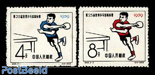 Table tennis 2v