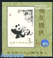 Chinese/Singapore stamp exposition s/s