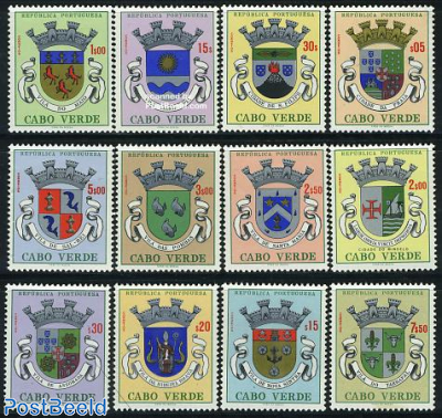 City coat of arms 12v