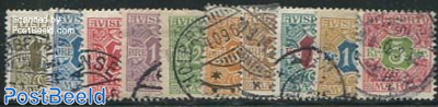 Newspaper stamps 10v