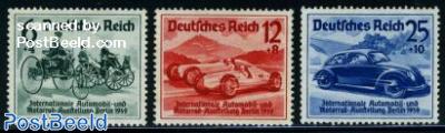 Automobile exposition 3v