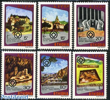 World heritage 6v