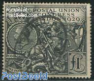 Postal union congress 1v