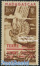 Terre Adelie overprint 1v