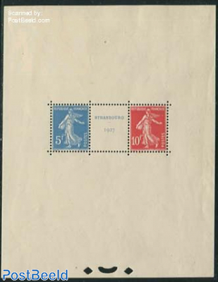 Stamp exposition s/s
