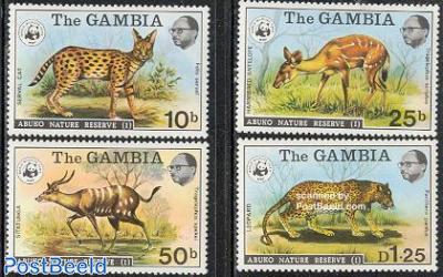 WWF, Abuko park 4v