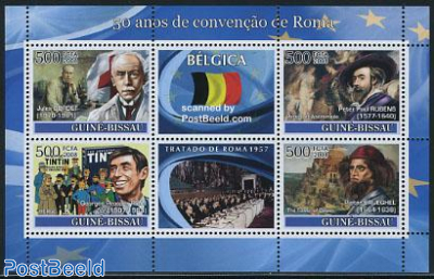 50 Years Treaty of Rome, Belgium 6v m/s