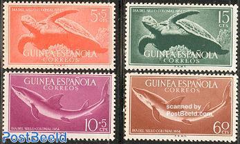 Stamp Day 4v