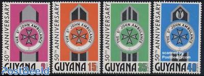 St John Ambulance 4v