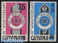 St John Ambulance 2v