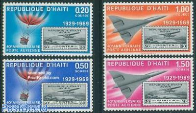 40 years airmail 4v
