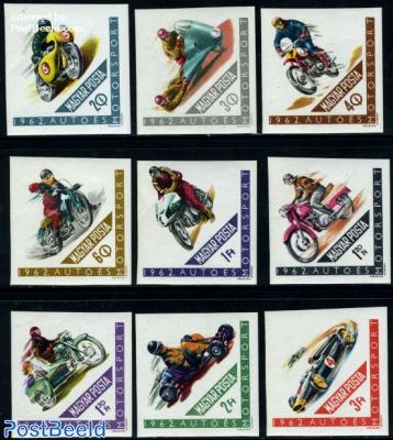 Auto & motorsports 9v imperforated