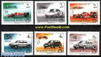 Automobile cent.6v (Ferrari,Alfa,VW,Renault,FIAT,m