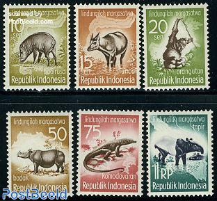 Animal conservation 6v