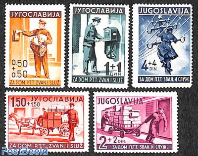 Postal services 5v