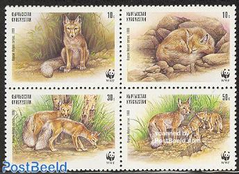 WWF, desert fox 4v [+]