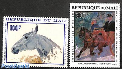 Toulouse de Lautrec paintings 2v