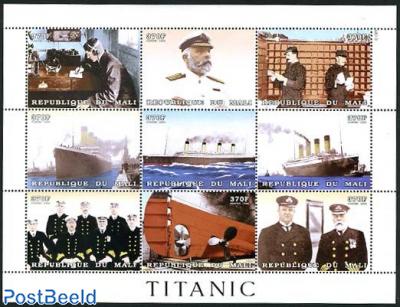 The Titanic 9v m/s